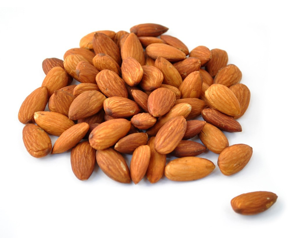 Image Gallery roasted almonds
